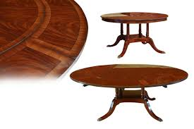 perimeter table round dining table with perimeter leaves round mahogany dining table with perimeter leaves