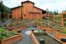 railroad tie fence exterior farmhouse with landscape architect foam plant supports