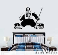 hockey wall art awesome ice hockey goalie wall decals 1 wall decal