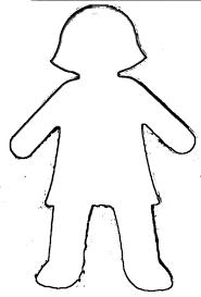Child Outline Template Rome Fontanacountryinn Com