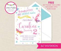 full size of erfly birthday invitations diy wording text 1st
