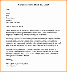 How End A Thank You Letter Relevant Vision Sample Internship Foundinmi