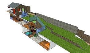 underground house plans.  Underground Plans Underground House Plans Subterranean Home Floor Inside