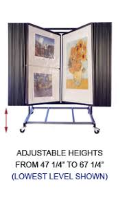 Multiple Poster Display Stands Adjustable Multi Panel Art Print Display Stand Free Shipping 18