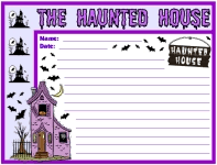 halloween and writing prompts creative writing prompts halloween haunted house printable worksheets for language arts