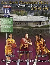 2008-09 Toros Women's Basketball Media Guide by Thomas Weed - issuu