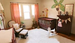 jungle themed furniture. Creative Artwork With Jungle Themed Bedroom For Nature Lover: Nice Contemporary Nursery Animals Wall Furniture D