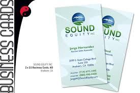 Tinytee Graphics Teena Hagan Sound Equity Inc Business Cards