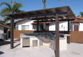 solid roof patio cover plans. Interesting Plans Outdoor Barbeque Free Standing Patio Cover Intended Solid Roof Plans