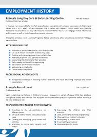 Foster Care Social Worker Sample Resume Simple Sample Child Care