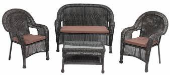 1 699 00 patio furniture wicker 4pc sofa set