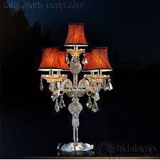 fancy kids chandelier style table lamps kids lamp