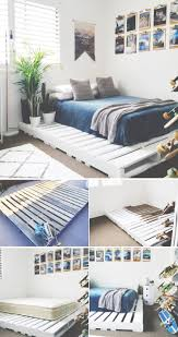 Best 25+ Diy bed frame ideas on Pinterest | Bed ideas, Rustic bed ...