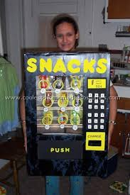 Vending Machine Costume Best Coolest Homemade Vending Machine Costumes