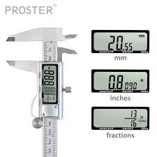 Proster Digital Vernier Caliper 200 Mm 8 Inch Stainless