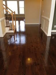 dark oak hardwood floors. Photo 9 Of Red Oak Hardwood Floors After Three Coats Polyurethane Semi Gloss; Mix Minwax Dark O