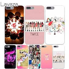 Lavaza TWICE Kpop Cover Case for iPhone X 10 8 7 6 6s Plus 5s 5C 5