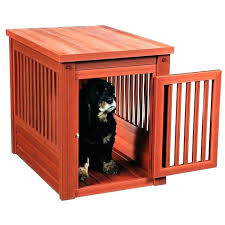 luxury dog crates furniture. Dog Cage Furniture Crate End Table Modern . Luxury Crates A
