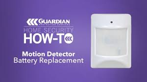 Smart Guardian Motion Sensor Light How To Motion Detector Battery Replacement