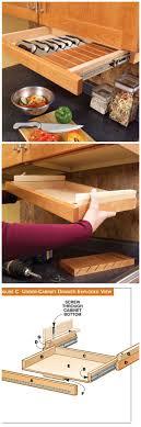 Kitchen Cabinet Storage Best 25 Under Cabinet Storage Ideas On Pinterest Bathroom Sink