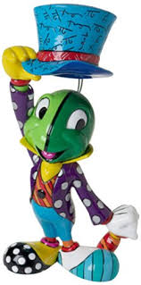 Small Picture Amazoncom Disney by Britto Jiminy Cricket from Pinocchio Stone