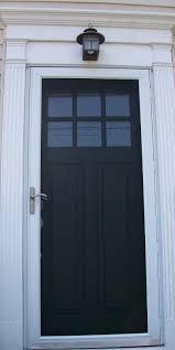 front storm doorsSixtyFifth Avenue The painted front doorpart two