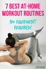 7 best at home workout routines no equipment required workout plans to lose