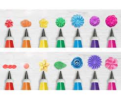 Amazoncom Kootek 32 Piece Cake Decorating Supplies Tips Kits