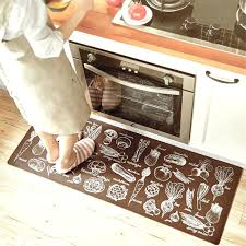 black and white kitchen rug black white grid brown vegetables 2 pieces set rubber non slip black and white kitchen rug