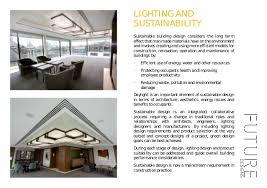 future designs lighting. LIGHTING AND SUSTAINABILITY; 17. Future Designs Lighting
