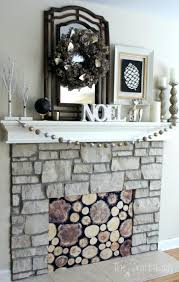 smlf easy fireplace cover brilliant idea hide ugly opening my ideas decorative for