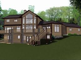 home plans with walkout basement inspirational 64 unique s house