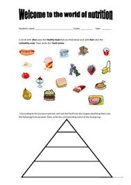 Blank Food Pyramid Chart English Esl Food Groups Worksheets Most Downloaded 12