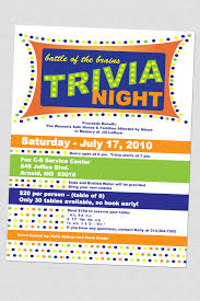 fish fry event fundraiser poster flyer or ad fundraisers trivia night flyers