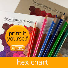Polychromos Hex Chart