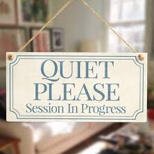 Online Shop Meijaifei Quiet Please Session In Progress Functional
