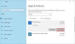 to update microsoft teams on windows 10