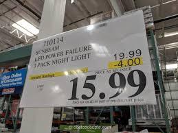 sunbeam led power failure night light
