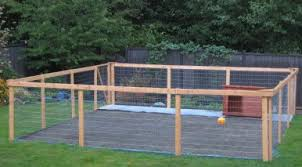 nice diy dog run project complete with low maintenance kennel flooring dog house
