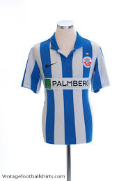 50% cotton, 50% polyester colour: 2012 13 Hansa Rostock Home Shirt M For Sale 448203 463