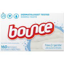 Bounce Free & Gentle Çamaşır Kurutma Makinesi Yumuşatıcı 160 Kullanımlık |  | | | BOUNCE | Çamaşır Yumuşatıcıları