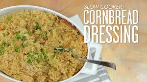slow cooker cornbread dressing thanksgiving made easy southern living you
