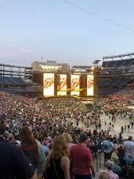 Gillette Stadium Section 103 Row 32 Seat 20 The Rolling