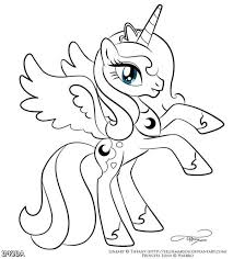 Small Picture Printable 24 My Little Pony Coloring Pages Princess Celestia 3187