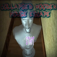 Wooden House Escape Game Walkthrough Collapsed Wooden House escape Gongtats Games 83