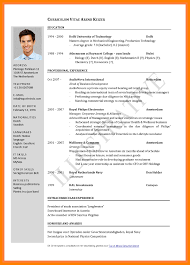 Latest Format For Resume What Is The Latest Resume Format April