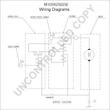 m105r2502se starter motor product details prestolite leece m105r2502se wiring diagram