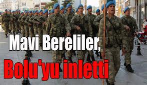 Mavi Bereliler, Bolu'yu inletti
