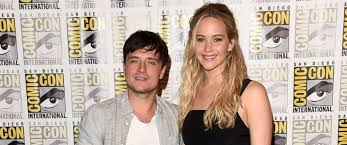 josh hutcherson reacts to jennifer lawrence wage gap essay calls  photo actors josh hutcherson and jennifer lawrence are seen 9 2015