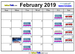 Irs Schedule Refund Chart 2018 Feb2019 1 Refundtalk Com